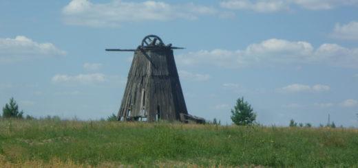 мельница в окресностях деревни осинки Суражского района