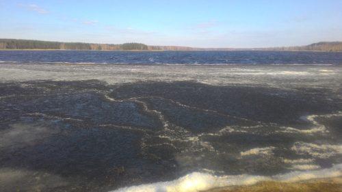 Озеро у деревни Кожушье