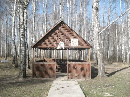 Беседка Святой Источник Поповская Криница