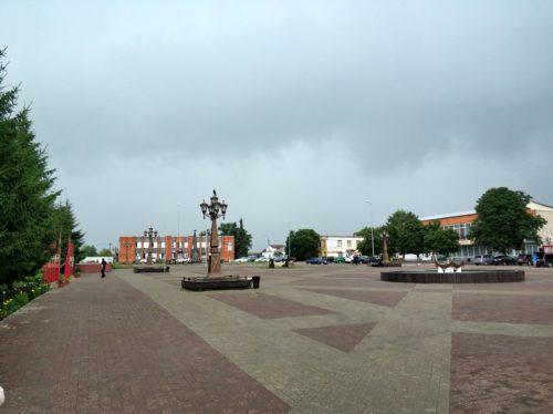 Площадь Севск