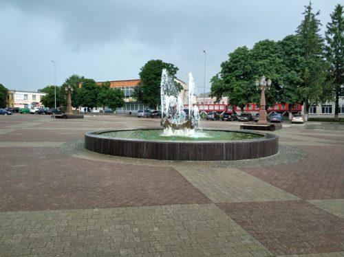 Городской фонтан. Севск.
