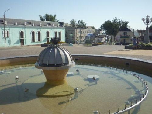Городской фонтан. Сураж.