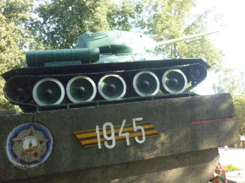 Танк Т 34 Унеча