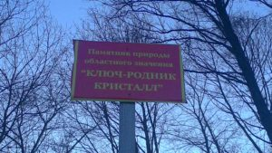 Ключ-родник КРИСТАЛЛ Клинцовский Район