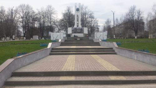 Мемориал в честь погибших на полях Великой Отечественной Войны. Климово.