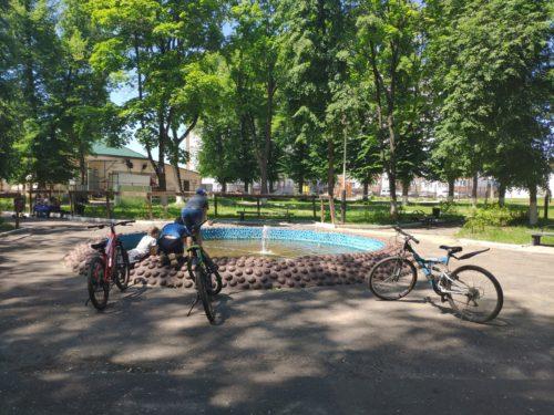 Парк Воровского Клинцы фонтан