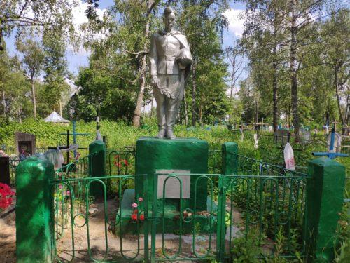 Братская могила. Мемориал. Белый Колодезь.