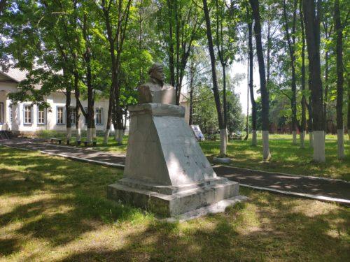 Памятник Ленину Старый Кривец Брянская Область