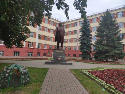 Памятник Ленину Клинцы центр города