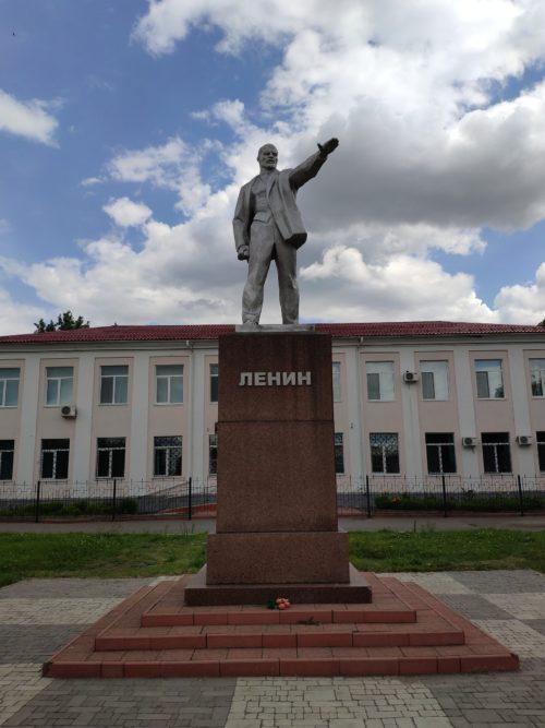 памятник Ленину Стародуб