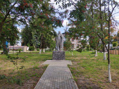Памятник Ленину Погар