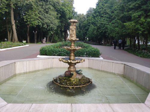 Фонтан в Парке. Тубчевск
