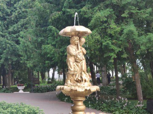 Фонтан в Парке Трубчевск