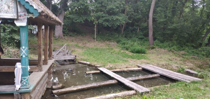 Семь ключей святой источник родник Лопатни Клинцовский район Брянская область