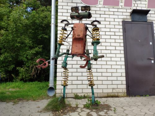 Арт-объект «Робот». Клинцы.