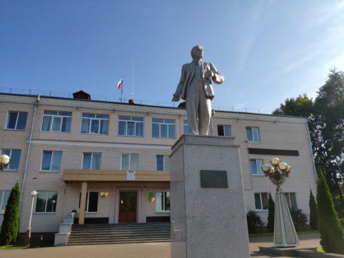 Памятник Ленину Сураж