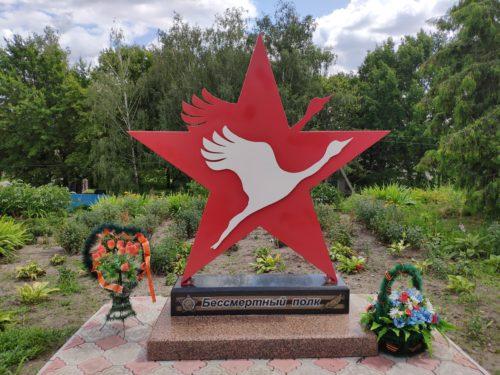 Бесмертный полк памятный знак Стародуб
