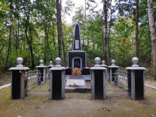 памятник семьям партизан. Клинцы. Брянская могила.