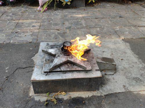 вечный огонь Сураж
