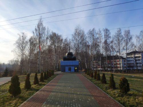 танк в городе Новозыбков