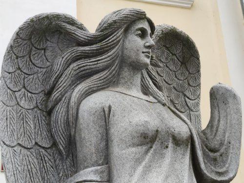 Скульптура «Девушка Ангел». Почеп