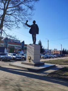 Памятник Ленину Выгоничи Брянская Область