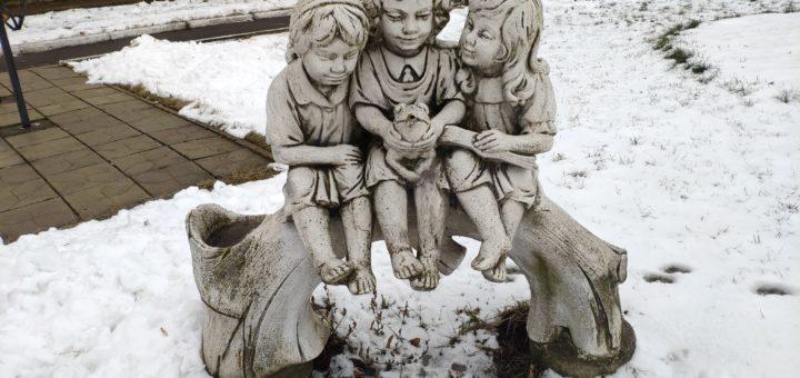 дети скульптура Почеп