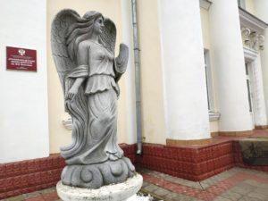 скульптура ангела Почеп