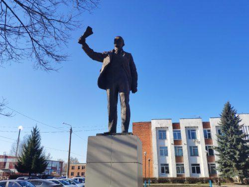 Памятник Ленину. Выгоничи.