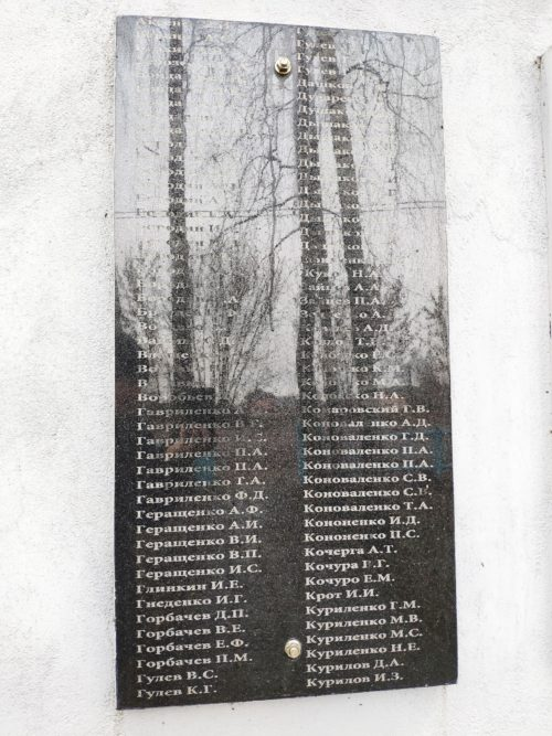 памятник воинам-односельчанам Смотрова Буда