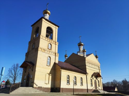 Церковь Николая Чудотворца. Выгоничи.