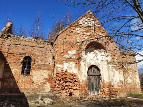 Достопримечательность Клинцовского района Церковь Смолевичи