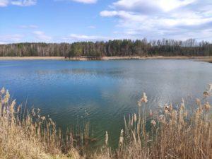 Озеро рядом с Княжем, Ресныс ур. Закот и Беловодкой