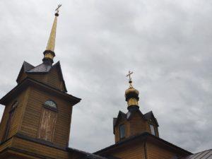 Церковь Всех Святых в Рассухе Унечского района Брянской Области