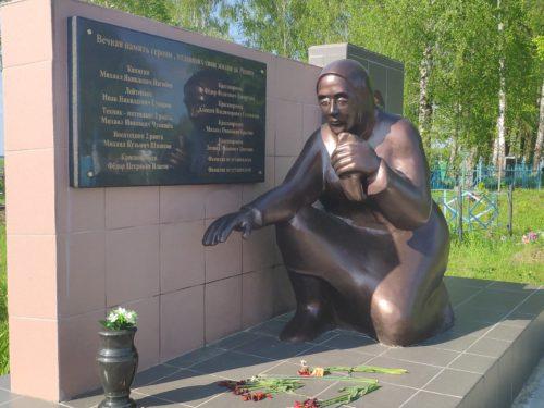 Малая Топаль ЧТО ПОСМОТРЕТЬ. Мемориал у Кладбища