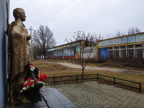 Ущерпье Памятник погибшим жителям села