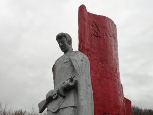 Мемориал ВОВ Ущерпье