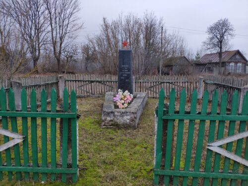 Памятник Воинам, погибшим в Великой Отечественной войне. Веприн