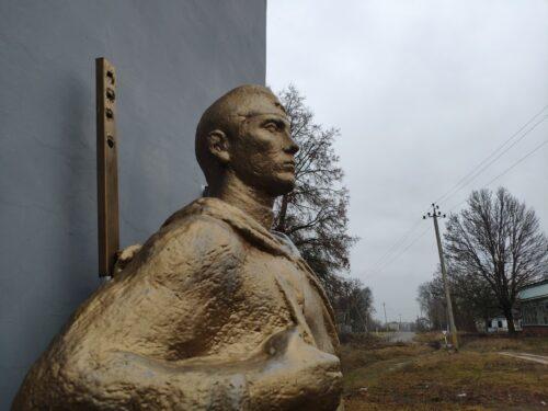 ущерпье мемориал жителям села погибшим на войне