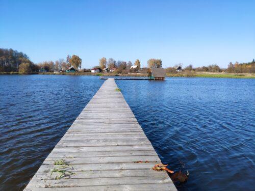 Озеро у Святого Источника. Рубня-Голубовка.