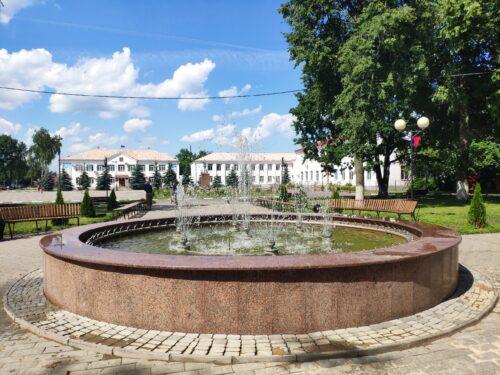 Фонтан города Стародуба