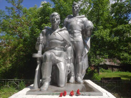 Памятник Воинам-Односельчанам. Логоватое.