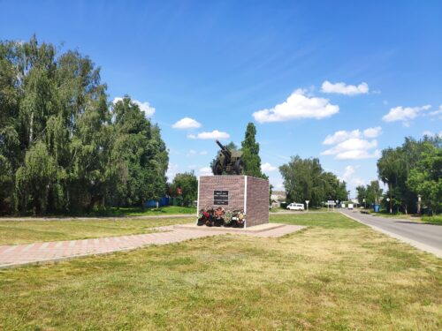 Памятник артиллеристам Стародуб
