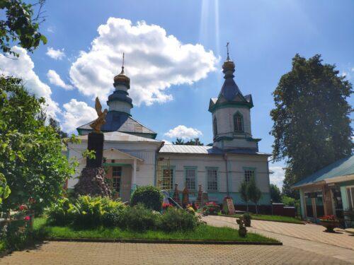 Храм в честь Зачатия праведной Анною Пресвятой Богородицы. Чубковичи.