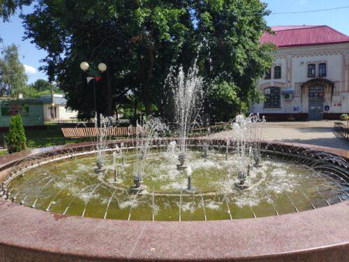 Фонтан города Стародуб