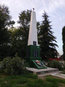 Памятник вов Унеченский район Брянкустичи