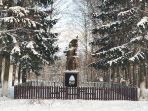 Новый Дроков Братская Могила Мемориал