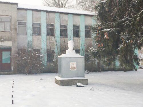 Памятник герою советского союза Суражский район Нивное