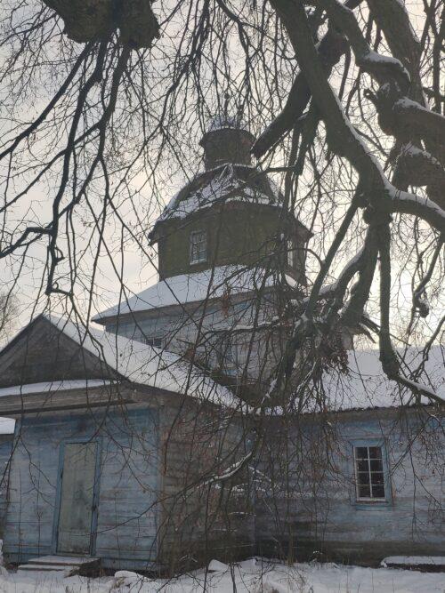 Фото храма в Высокоселище