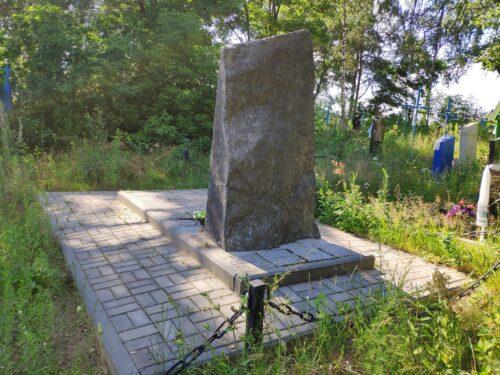 Марьяновка памятник ВОВ